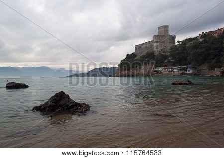View Of Lerici Castle