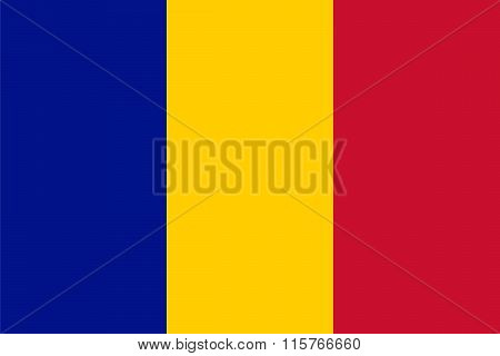 Standard Proportions For Chad Flag