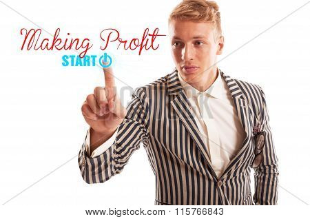 Start Making Profit Concept