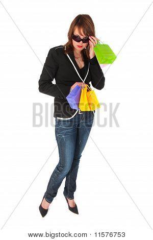 Shopping Glamour Girl