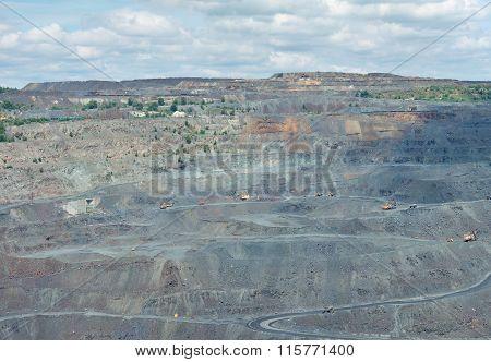 Iron Ore Opencast Landscape