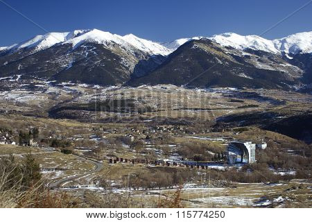 French Pyrenees landscape