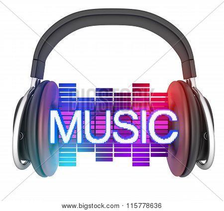 Sybol Music And Headphone