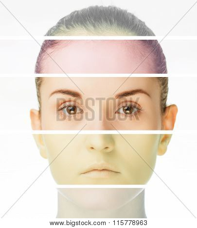 Plastic Surgery Concept, Beauty Treatment