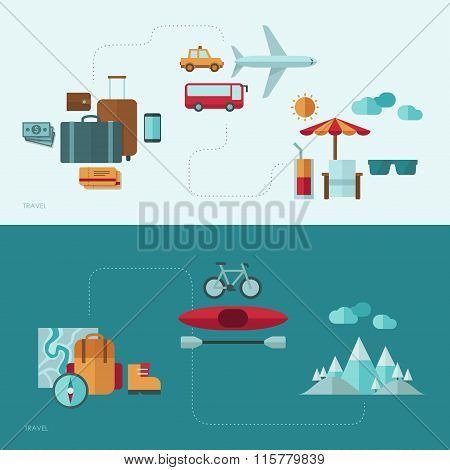 Flat design vector concept illustration