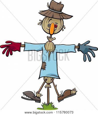 Scarecrow Character Cartoon