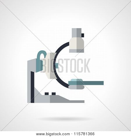 Medical equipment flat color vector icon