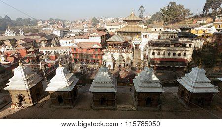 View Of Pashupatinath - Hindu Temple In Kathmandu
