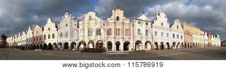 Telc Or Teltsch Town Square With Renaissance Houses