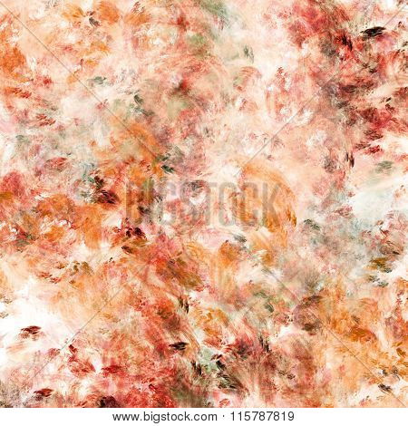 Abstract Art Background In Vibrant Colors. Digital Painting