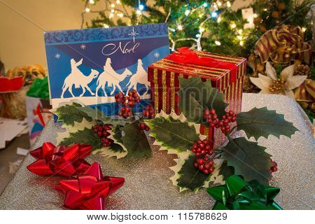 christmas tabletop ornaments