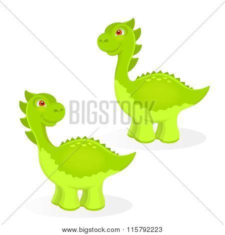 Cartoon Dinosaur Characters
