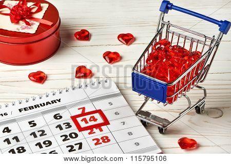 Calendar Valentines Day