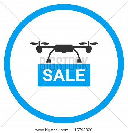 Aircraft Sale Flat Icon