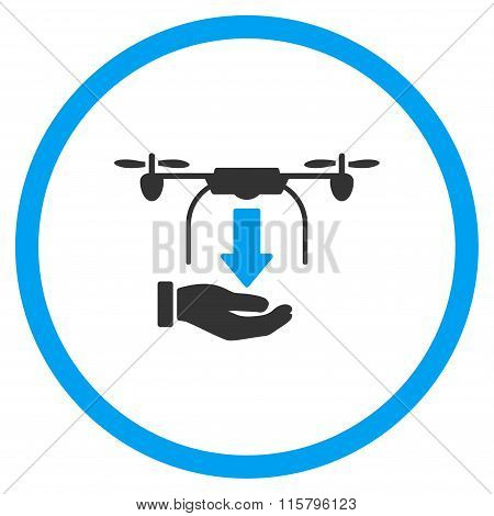 Hand Unload Nanocopter Icon