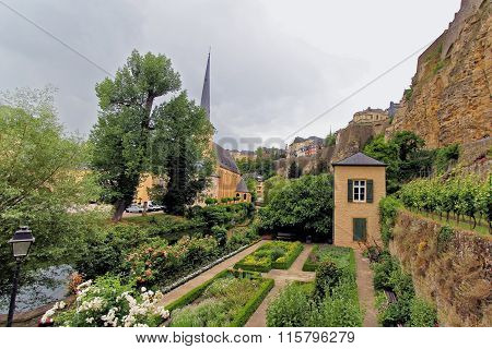 Ancient town in central Luxembourg