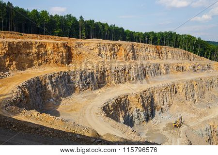 Quarry In Poland