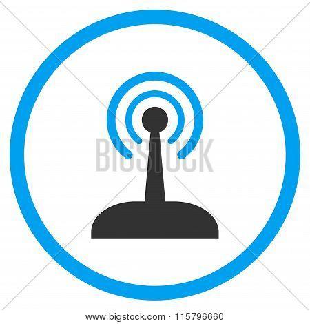 Radio Control Joystick Icon