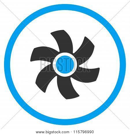 Rotor Flat Icon
