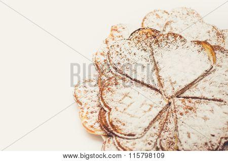 Belgian Waffles With Sugar