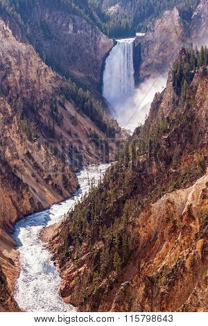 Lower Falls Yellowstone River