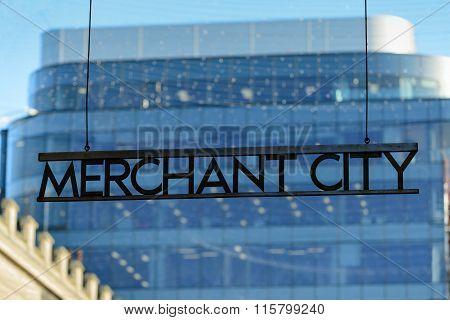 Merchant City Sign
