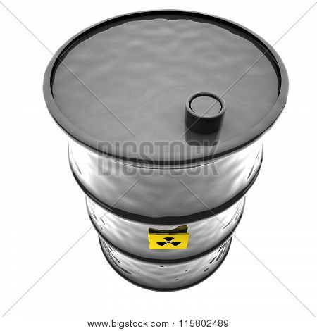 Radioactive Barrel, 3D