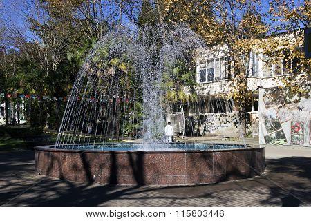 Fountain. Sochi, Russia