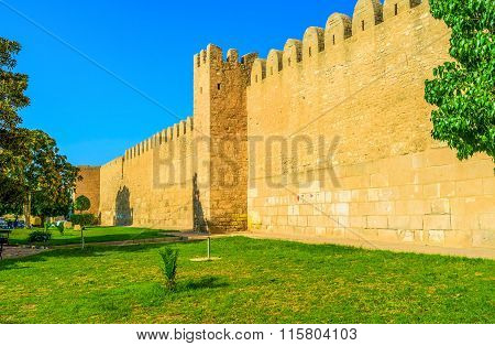 The Huge Wall