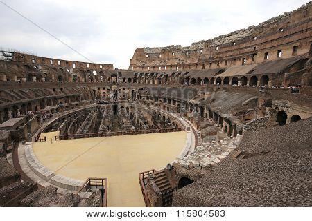Colosseum Amphitheatre, Rome, Italy