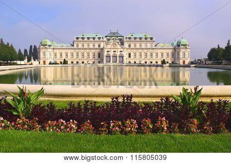 Palace Upper Belveder, Vienna, Austria