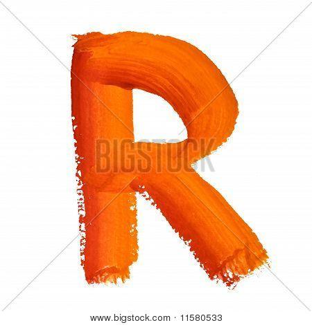 R - Color Letters
