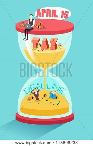 Tax Deadline Concept