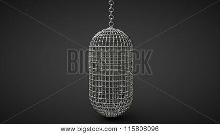 Prisoners Capsule Vertical Man-riding Cage