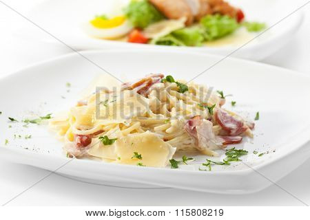 Traditional Pasta Carbonara