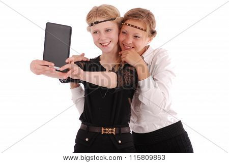 Girls Remove Self Tablet Pc