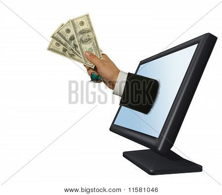 Getting Money From Monitor
