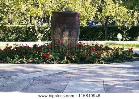 Vase Of Friendship. Sochi, Russia