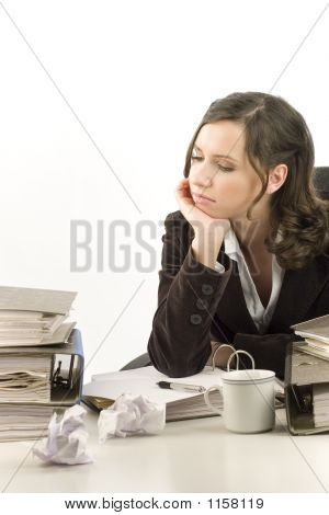 Depressed Secretary