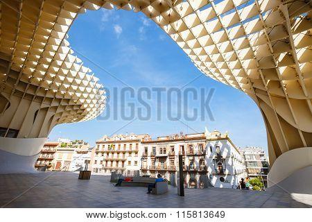 Metropol Parasol in Sevilla