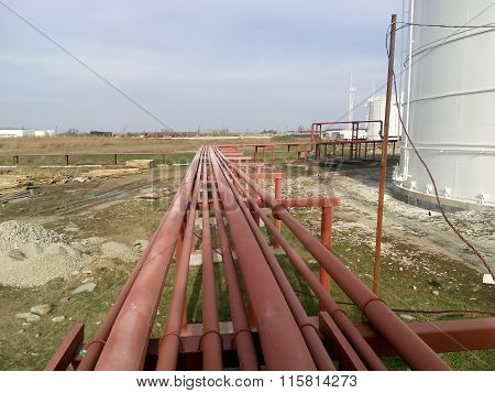 Piping For Pumping Refined Petroleum Products