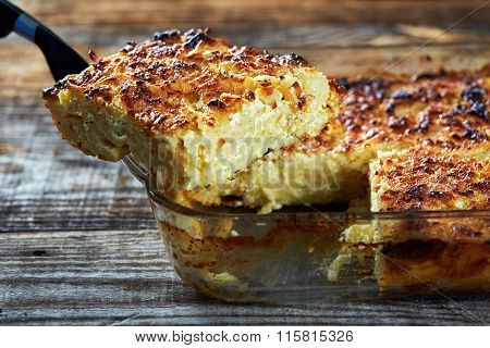 Macaroni With Cheese, Oven Baked
