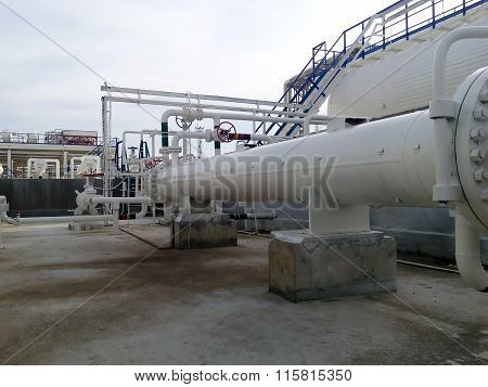 Heat Exchanger In A Refinery