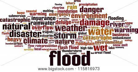 Flood Word Cloud