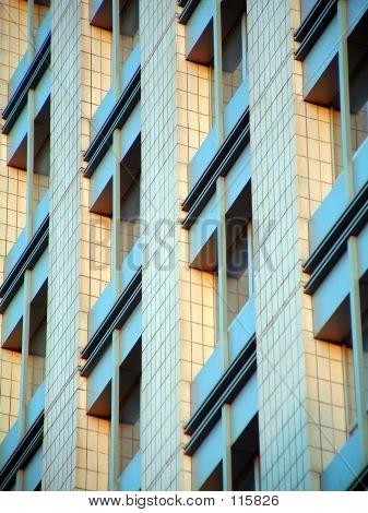 Windows On Morden Building