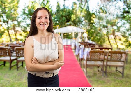 Wedding Planner Smiling