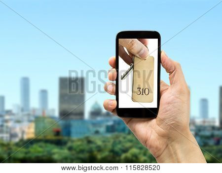Booking A Urban Hotel With My Smartphone