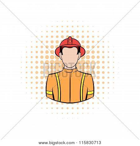 Fireman comics icon