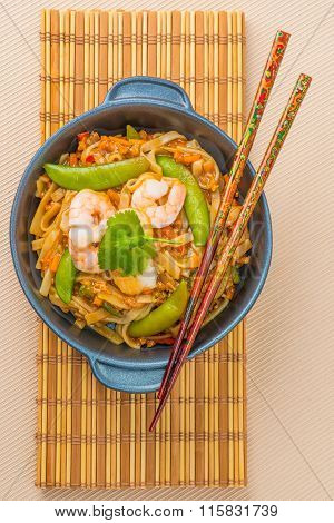 Pad Thai From Above
