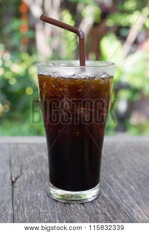 Iced Americano.